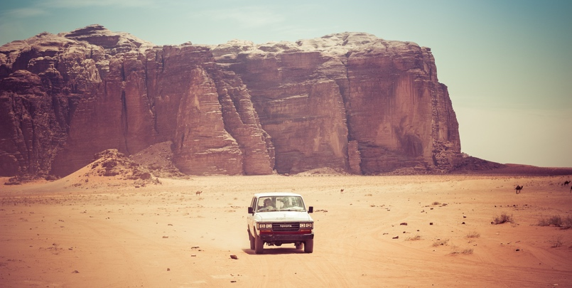 Getting around in Jordan