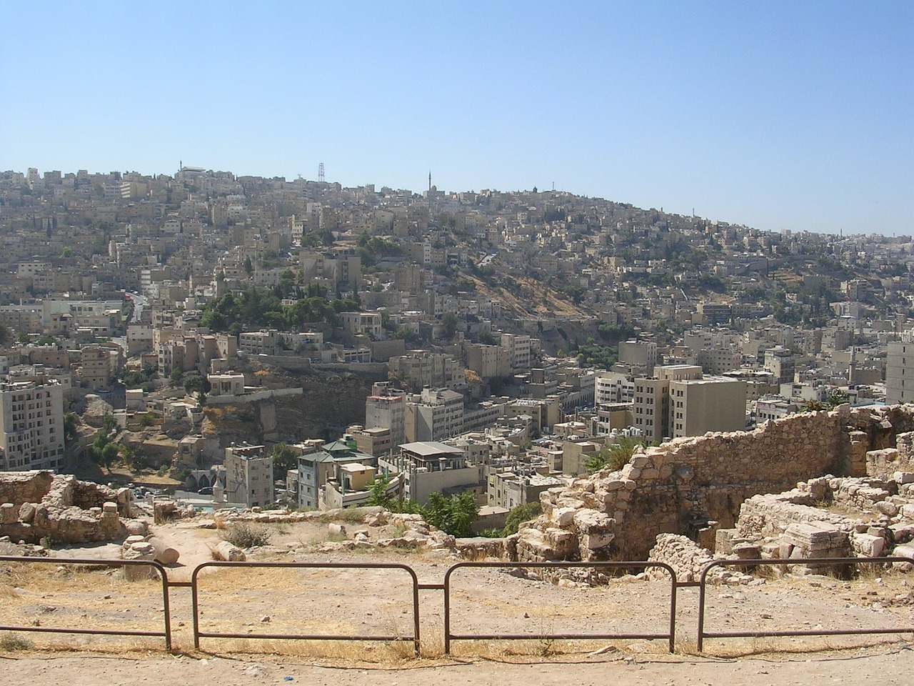 View from the Citadel Hill in Amman