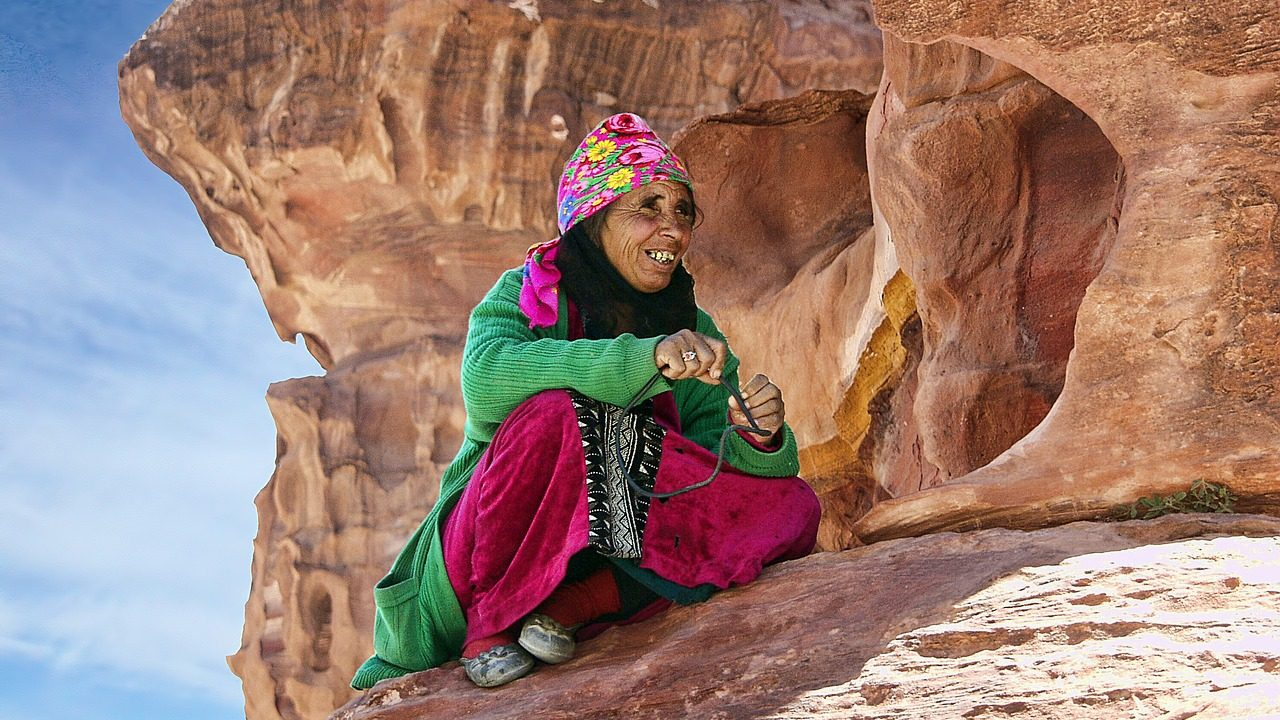 Local Bedouin in Petra