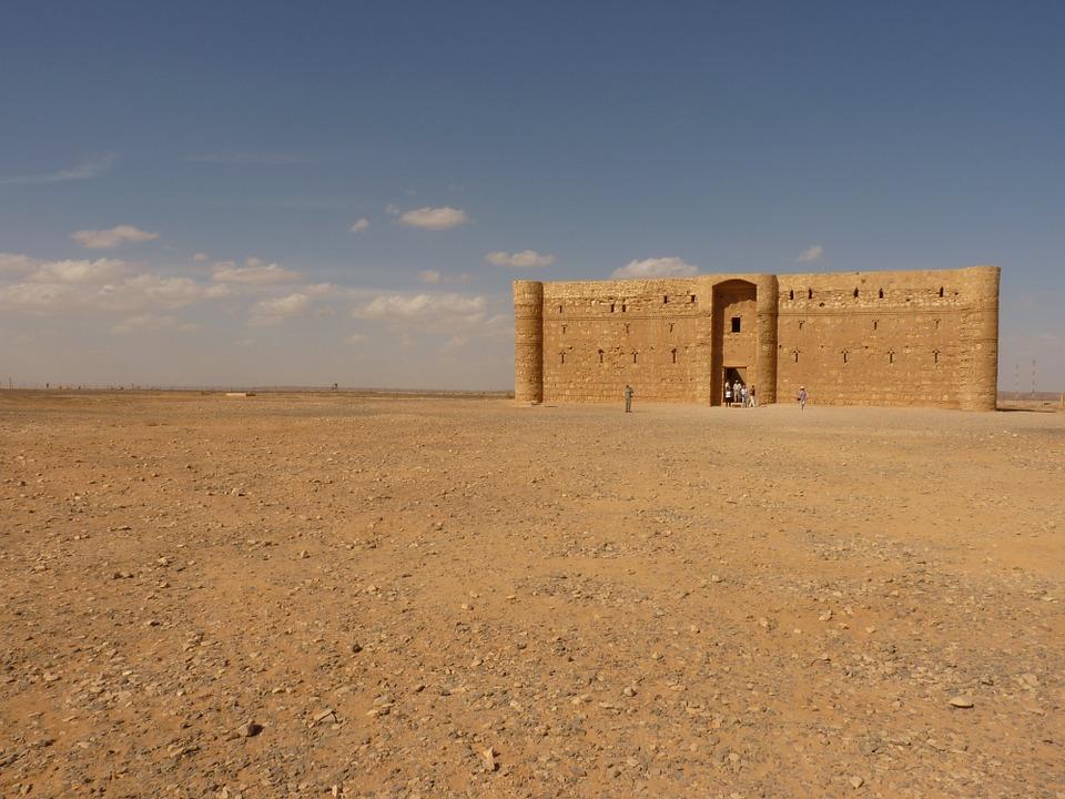 Qasr Kharana in the Jordanian desert