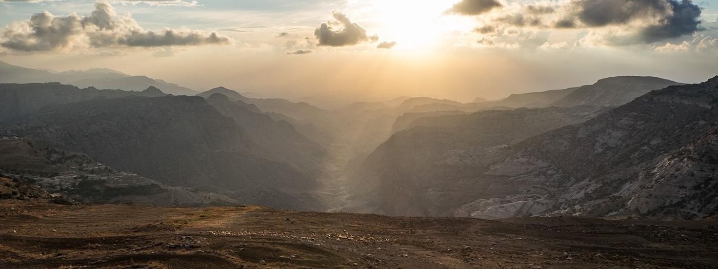 Wadi Dana desert