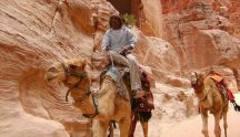 Guide in Petra