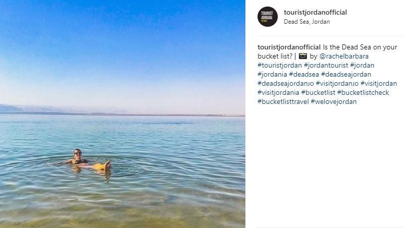 Instagram Dead Sea
