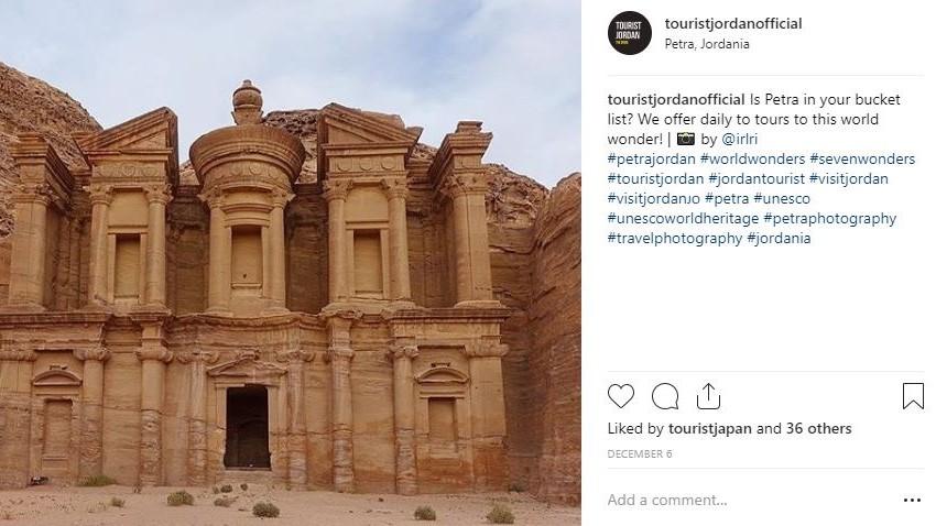 Instagram Petra